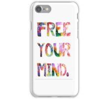 Free Your Mind iPhone Case/Skin