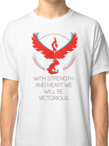 Team Valor - With Strength and Heart Classic T-Shirt