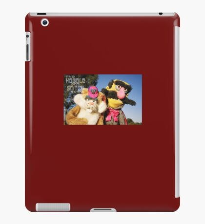Snivels and Butch iPad Case/Skin