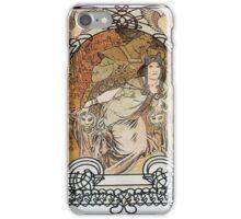 Alphonse Mucha - Ilsee Princesse De Tripoli 3 iPhone Case/Skin