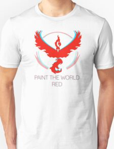 Team Valor - Paint The World Unisex T-Shirt