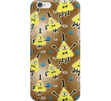 Bill Cipher Everywhere - pattern iPhone Case/Skin