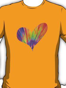 Cool Tie-Dye Heart T-Shirt