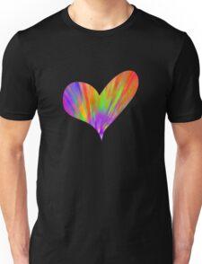 Cool Tie-Dye Heart Unisex T-Shirt