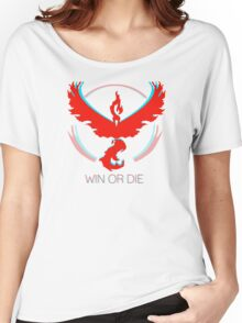 Team Valor - Win or Die Women's Relaxed Fit T-Shirt