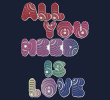 All You Need Is Love Kids Clothes
