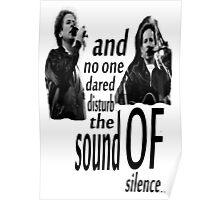 Simon & Garfunkel-The Sound Of Silence Poster