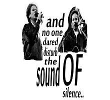 Simon & Garfunkel-The Sound Of Silence Photographic Print