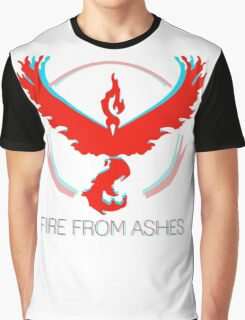 Team Valor - Fire From Ashes Graphic T-Shirt