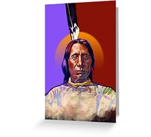 Red Cloud Greeting Card