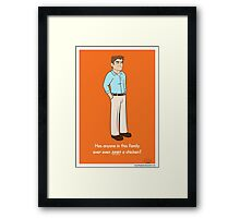 Michael Bluth ! Framed Print