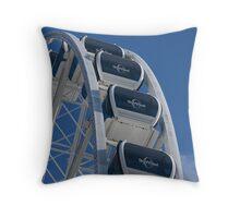 Ferris Wheel Level Throw Pillow
