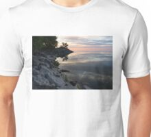 On the Rocks - Silky Colorful Lakeside Morning Unisex T-Shirt