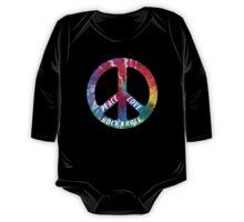 Peace, Love, Rock N' Roll One Piece - Long Sleeve