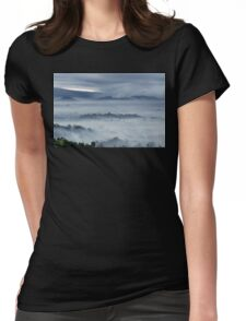 Borobudur Mystical Womens Fitted T-Shirt