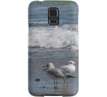 Seagulls at the Beach Samsung Galaxy Case/Skin