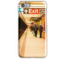 Subway Station iPhone Case/Skin