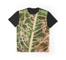 Leaf Eaten by Insects Graphic T-Shirt