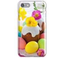 Eggs Easter Color iPhone Case/Skin