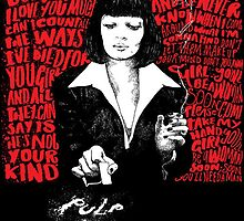 Pulp Fiction - You'll Be A Woman Soon by terrortides