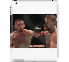 Nate Diaz vs Conor McGregor Poster iPad Case/Skin