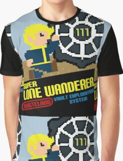 Super Lone Wanderer - Vault Exploration Graphic T-Shirt