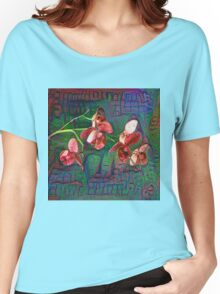 Phalaenopsis A #DeepDream Women's Relaxed Fit T-Shirt