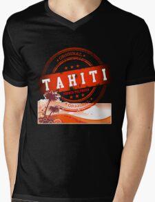 TAHITI Cool n' Sexy Island Mens V-Neck T-Shirt