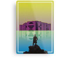 Architecture: Louis Kahn Metal Print