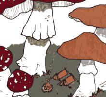 Mushroom Forest Campground Sticker