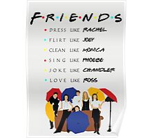 Be like Friends • TV show Poster