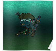 Ninja Pirate Zombie Poster