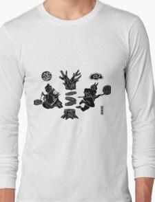 Love Letter teal Long Sleeve T-Shirt