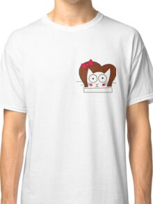 Kitty Doodle 2 Classic T-Shirt