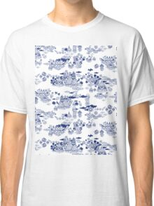 FLOOD IN ANTIQUE CHINESE Classic T-Shirt