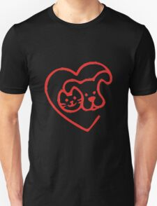 I LOVE MY DOGS_1 Unisex T-Shirt