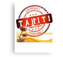 TAHITI Summer Time Canvas Print
