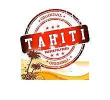 TAHITI Summer Time Photographic Print