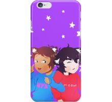 Voltron Keith and Lance Kittens iPhone Case/Skin