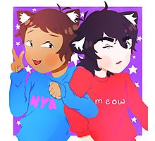 Voltron Keith and Lance Kittens Photographic Print