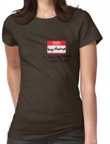 Inigo Montoya - Princess Bride Womens Fitted T-Shirt