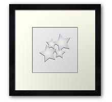 background stars Framed Print