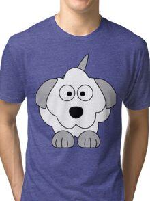 I LOVE MY DOGS_3 Tri-blend T-Shirt