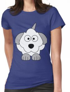 I LOVE MY DOGS_3 Womens Fitted T-Shirt
