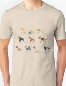 I LOVE MY DOGS COLLECTIONS_1 Unisex T-Shirt