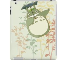 totoro in the flowers and trees iPad Case/Skin