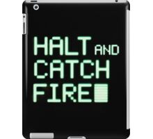 Halt and Catch Fire Television Series iPad Case/Skin