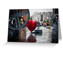 Heart in Paris Greeting Card