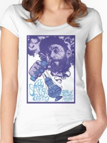 Lee Scratch Perry : Band On The Wall Women's Fitted Scoop T-Shirt