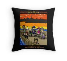 Duqesne City Ferry Throw Pillow